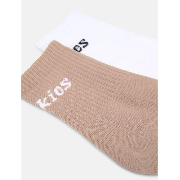 Dickies אריזת 2 זוגות גרביים CARLYSS דיקיס