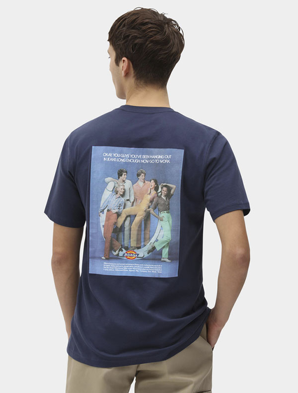 Dickies חולצת טי קצרה BIGFORK דיקיס