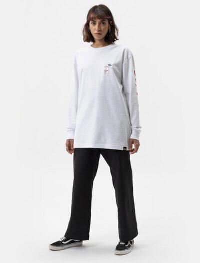 Dickies חולצת טי ארוכה אובר סייז JAMIE FOY GRAPHIC דיקיס