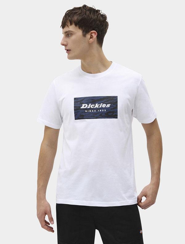 Dickies חולצת טי קצרה QUAMBA BOX דיקיס
