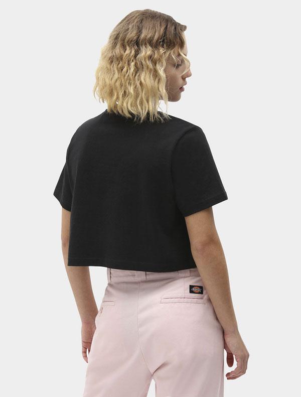 Dickies חולצת טי קצרה PORTERDALE CROP דיקיס